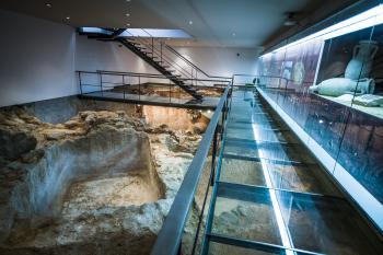 Antigua fábrica de salazones romana