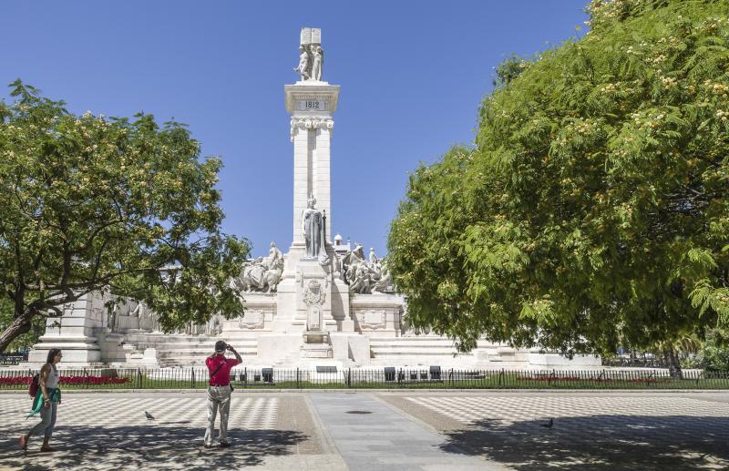 Resultado de imagen de plaza de espana cadiz